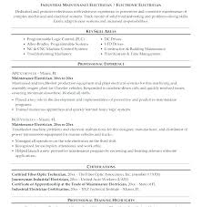 Resume Sample Format Cool Electrician Resumes Samples Resume Sample Format Fabulous