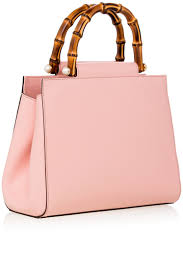 gucci bags pink. pink nymphaea leather top handle bag gucci bags pink