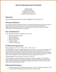 8 Business Resume Template Professional Resume List