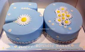 Caroles Cakes Number Cakes