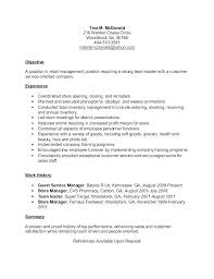 Examples Of Objectives On Resumes Extraordinary Objective Resume Samples Qualifications Resume Sample Objective