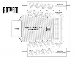 The Anthem Dc Seating Chart Seating Chart