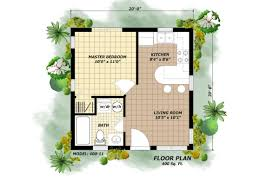 400 sq ft house plans 3 beautiful homes under 500 square feet