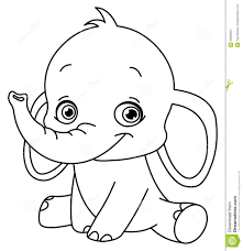 baby elephant coloring pages to and print for free alexa