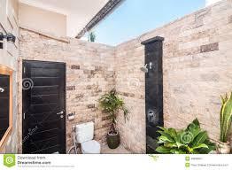 Outdoor Shower Outdoor Shower Stock Photo Image 49828961
