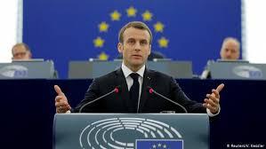 Αποτέλεσμα εικόνας για μακρον ευρωπαικο κοινοβουλιο
