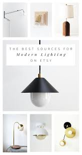 Affordable Modern Lighting The Best Sources For Affordable Modern Lighting On Etsy
