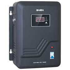 Купить <b>Стабилизатор напряжения Sven AVR</b> PRO LCD 10000 в ...