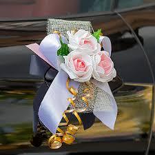 Свадебные <b>украшения на машину</b>