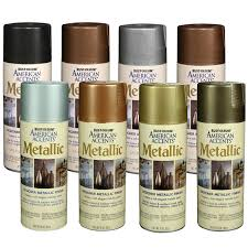 Rust Oleum American Accents Color Chart Rustoleum American Accents Designer Metallic Spray