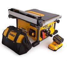 dewalt flexvolt table saw. dewalt dcs7485t2 table saw xr flexvolt 54v cordless 210mm (2 x 6.0ah batteries) b