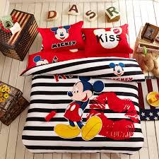 plush design ideas mickey minnie duvet sets mouse bedding disney comforter