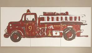 wonderful looking fire truck wall art interior designing design ideas great 32 for lori walls with
