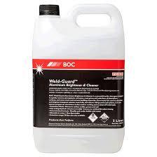 boc weld guard aluminium brightener and cleaner