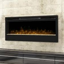 details about dimplex synergy 50 inch wall mount electric fireplace glass embers black