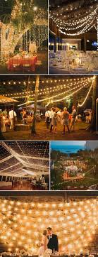 wedding reception lighting ideas. Romantic String Lights For Evening Wedding Reception Ideas 2015 Lighting N