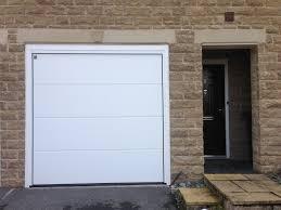 hormann garage doorHormann made to measure LPU40 sectional garage door installed in