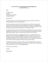 How To Address Cover Letter Think Tanks Cover Letter Internship Good