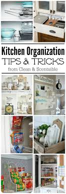 Organization For Kitchen Easy Kitchen Organization Ideas Clean And Scentsible