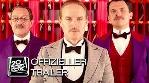 GRAND BUDAPEST HOTEL Trailer Deutsch HD German | Wes Anderson offizieller  deutscher Trailer FoxKino - YouTube
