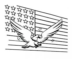 Free American Flag Color Sheets Page Coloring Sheet For Pages