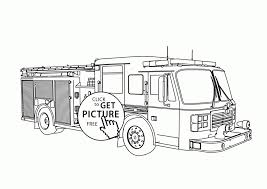 Free Fire Truck Coloring Pages Printable Futuramame