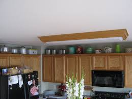Image Of: Decorate Above Kitchen Cabinets