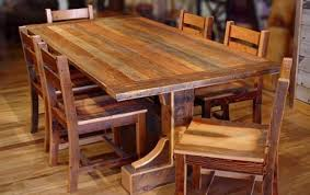 reclaimed wood furniture plans. Interior Rustic Dining Room Table Sets Shabby White Solid Wood Chair Reclaimed Round Brown Unique Chairs Furniture Plans