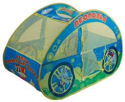 <b>Палатка Играем вместе</b> Леопольд машинка в сумке GFA-0446-R ...