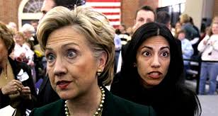 Image result for picture hillary and huma