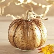 glass pumpkin decor aged glass pumpkin gold small glass pumpkin decorations glass pumpkin