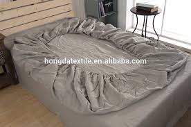 stone washed flax linen bedding set belgian echelon home sheet vintage