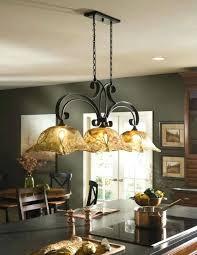 kitchen island chandelier kitchen island chandelier dark bronze hanging light metal glass fixture crystal chandelier over kitchen island