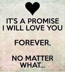 I Will Love You Forever Wallpaper