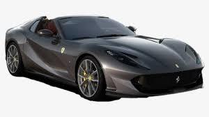 Silver Ferrari Transparent Background 2020 Ferrari 812 Gts Hd Png Download Kindpng