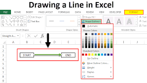 Can you tell me a way to draw a dotted line?,any one can! Drawing A Line In Excel How To Draw Line In Excel With Examples
