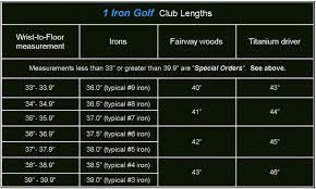 1iron Selection Guide Single Length Irons Guy