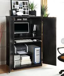 project organized home office armoire. Computer Armoire Desk Cabinet Project Organized Home Office Org Workstation O