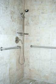 shower rod height handicap shower bar shower rod height shower curtain rod height tub