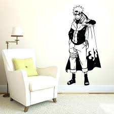 naruto wall art wall decal also vinyl wall art decal decals anime wall stickers