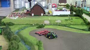 josh alexander s farm display at the 2017 lafayette farm toy show