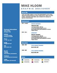 Cool Resume Templates Interesting 60 Creative Resume Templates [Unique NonTraditional Designs]