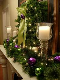 Decorating With Green Festive Christmas Mantel Decorating Idea In My Own Style