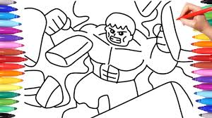Fleeing the complex paper.io 2 ninja clash heroes. Lego Avengers Coloring Pages Coloring Marvel Lego Avengers Lego Hulk Coloring Pages Youtube