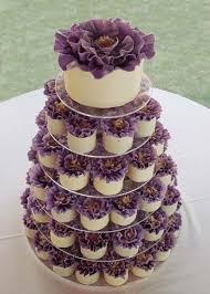 Purple Wedding Cupcake Tower Wedding Ideas Wedding Cupcakes