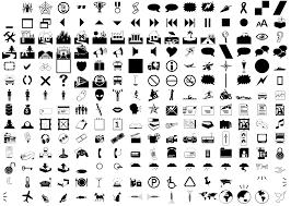8 Webdings Font Symbols Images Webdings Font Symbols Chart