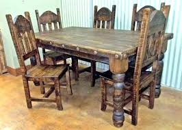 rough wood dining table or rustic dining furniture rustic dining room tables rustic dining furniture image