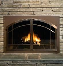 fireplace glass door fireplace glass door cleaner