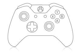 Popular xbox 360 controler covers color of good quality and at affordable prices you can buy on aliexpress. Xbox Controller Coloring Page Printable Editable Blank Xbox One Controller Xbox Valentines Xbox Party