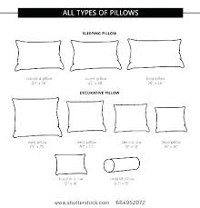 Pillow Size Chart Menofmontreal Info